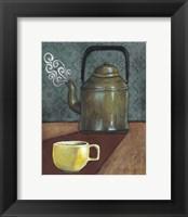 Good Morning Mugs I Framed Print