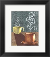 Good Morning Mugs II Framed Print