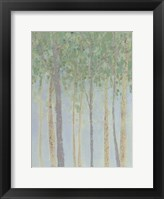 Hazy Woodlands II Framed Print