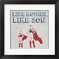 Little Hero II Framed Print