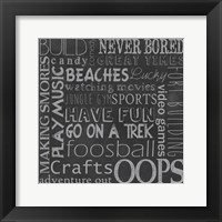 Inspired Youth III Framed Print