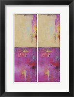 2-Up Urban Poetry II Framed Print