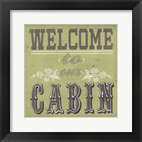 Cabin Life I Framed Print