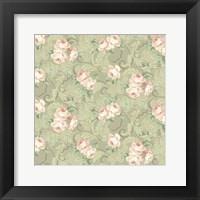 Framed Downton Roses I