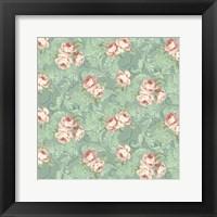 Framed Downton Roses III