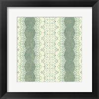 Framed Downton Stripe I