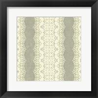 Framed Downton Stripe II