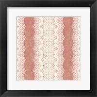 Framed Downton Stripe III