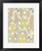 Radius Tile II Framed Print