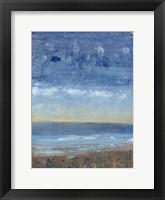 Calm Surf I Framed Print