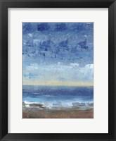Calm Surf II Framed Print