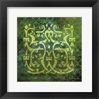 Antiquity Tiles VI Framed Print