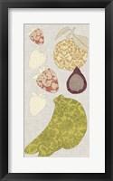 Contour Fruits & Veggies VIII Framed Print