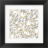Framed Daisy Chain I