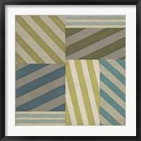 Framed Nautical Stripes I