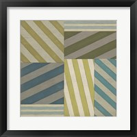 Framed Nautical Stripes I