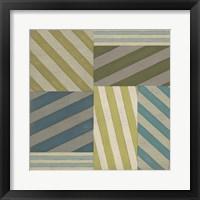 Nautical Stripes I Framed Print