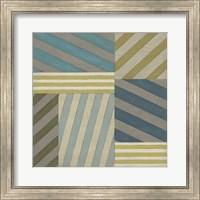 Framed Nautical Stripes II