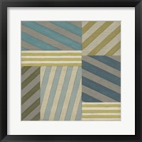Framed Nautical Stripes II