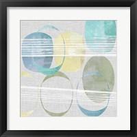 Stone Pattern I Framed Print
