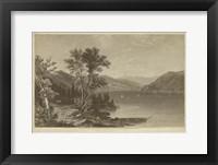Framed Lake George