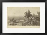 Framed On the Beverly Coast, Massachusetts