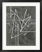 Vertices I Framed Print