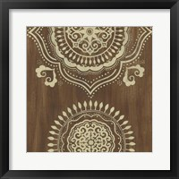 Framed Weathered Mandala II