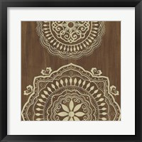 Framed Weathered Mandala IV