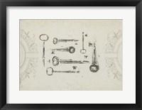 Keepsake Keys II Framed Print