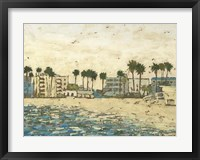 Beach Coast I Framed Print