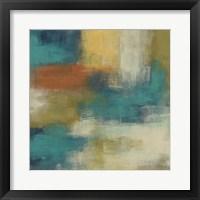 Blue Note II Framed Print