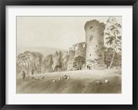 Framed Bothwell Castle