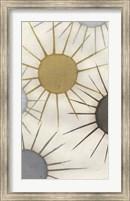 Framed Starburst Triptych I