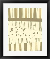Papyrus Collage II Framed Print