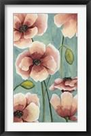 Freckled Poppies I Framed Print