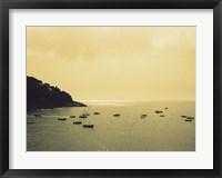 Framed Sunset Harbour I