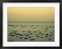 Sunset Harbour II Framed Print