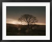 Framed Stormy Sunset II