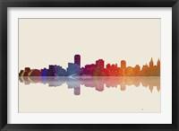 Adelaide SA Skyline 3 Framed Print