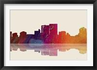 Darwin NT Skyline 3 Framed Print