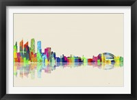 Sydney NSW Skyline 1 Framed Print