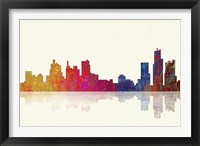 Boston Massachusetts Skyline 1 Framed Print