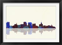 Buffalo New York Skyline 1 Framed Print
