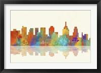 Framed Philadelphia Pennsylvania Skyline 1