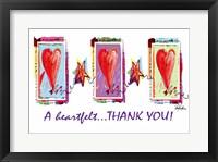 Framed Heartfelt Thank You
