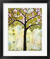 Framed Chickadee Tree 1
