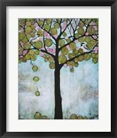 Framed Chickadee Tree 2