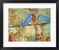 Framed Love Lock