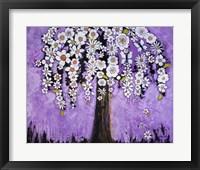 Framed Radiant Orchid Tree